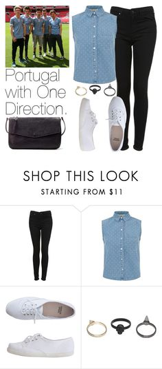 """""""Portugal with One Direction."""" by welove1 ❤ liked on Polyvore featuring beauty, Topshop, Innocence, American Apparel, Gathering Eye and Zara"""
