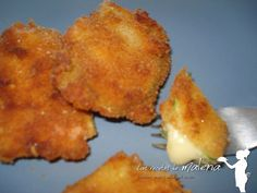 Las Recetas de Malena: Escalopines de calabacín rellenos de queso San Sim...