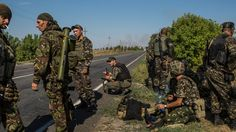 Accounts from retreating Ukrainian soldiers corroborated assertions by American officials that Russian forces had cross the border.