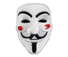 Anonymous Patch Sticker Revolution Rebel V Vendetta-Patches