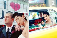 Wedding in NYC (shot with Angelica Glass).