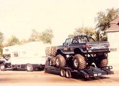 Non-sport Trading Cards Other Non-sport Card Merch Bigfoot Monster Truck~1988~card #61-62-63-64~bob Chandler~ms Bigfoot~ranger~
