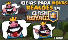 Novas ideias para EMOTES que devíamos ter no Clash Royale…