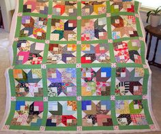 Brown Dirt Cottage: Pattern Is Boxy Star By Bonnie Hunter