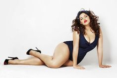 """Trailblazing model Denise Bidot has a super-smart response to being called """"plus-size"""""""