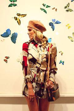 4787a92e25b29 39 melhores imagens de Julia Faria   Fashion outfits, Berets e ...