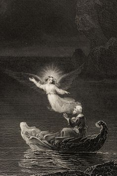 James D. Smillie engraving for Thomas Cole's The Voyage of Life, c.1856.