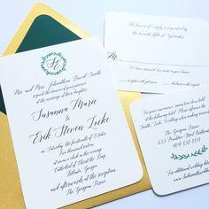 SUSANNA Wedding Invitation Set