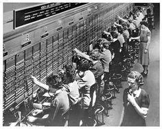 Switch board operators