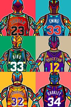 A tribute to the Nba Legends.