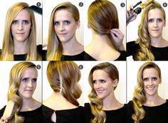 Transformeer jouw lange haren in een rode loper kapsel!!(2 Tutorials)