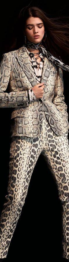 Animal Print Outfits, Italian Fashion Designers, Glamour, Animal Fashion, Autumn Winter Fashion, Fashion Fall, Rock Style, Roberto Cavalli, High Fashion
