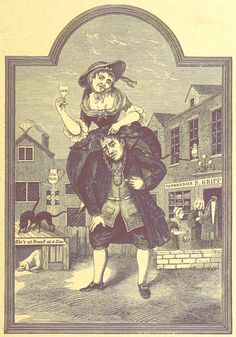 using cognitive surplus to drink gin in 1720