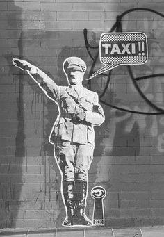 Hitler In Street
