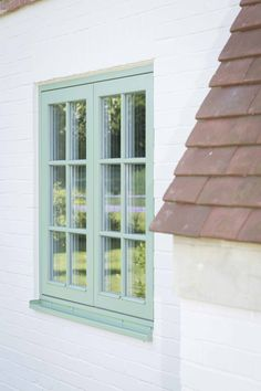 PERFORMANCE triple glazed  timber windows with interstitial glazing bars at Sussex low energy retrofit: https://www.greenbuildingstore.co.uk/sussex-low-energy-retrofit/