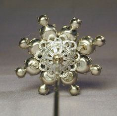 victorian hat pins | Victorian Era Rhinestone Hatpin Hat Pin - Long & Sparkly from ...