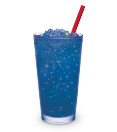 ... America's Drive-In - Slushes Blue Raspberry mixed with NERDS Candy