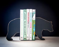 Bookends  Bear special wooden edition of by DesignAtelierArticle, $54.99