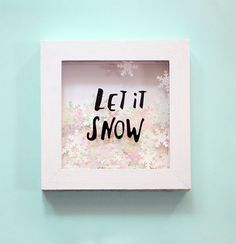 Simple DIY shadowbox...