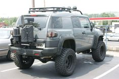 Image detail for -Who Makes A Gas Can Rack 4 Spare Tire Toyota Fj Cruiser Forum