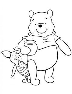 Print Free Disney Cartoon Coloring Pages / All About Free Coloring Pages for Kids Cartoon Coloring Pages, Disney Coloring Pages, Free Printable Coloring Pages, Coloring Pages For Kids, Coloring Books, Cute Winnie The Pooh, Winnie The Pooh Friends, Popular Cartoons, Pooh Bear