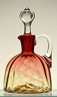 Amberina Cruet. Click on the image for more information.