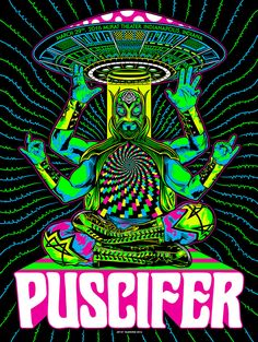 Puscifer: Lucha Invasion Poster on Behance Rock Posters, Band Posters, Concert Posters, Gig Poster, Tool Artwork, Rock Y Metal, Heavy Metal Art, Tool Band, Kunst Poster