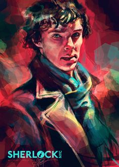 Exclusive artwork I did for the awesome SherlockNYC event, which I attended yesterday! This poster was raffled off to the audience at the screening. Any future prints of this piece will only be sold through SherlockNYC. Alice X. Zhang