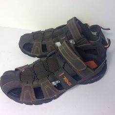 7ffbb59bc3450 Men s Teva Brown Forebay Sport Sandal Shoes ShocPad Size 12 M  Teva   SportSandals