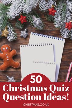 50 Christmas Quiz Question Ideas for the Family - Ideal for all ages. This bumper pack of festive questions and answers is the ideal game to play with the family this Christmas. Or even with friends and relatives on video and Zoom calls.