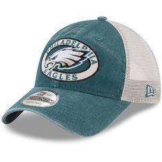 d791b4f528d Preschool Philadelphia Eagles New Era Midnight Green Patched Pride 9TWENTY  Adjustable Hat