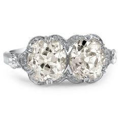 Platinum The Zenas Ring from Brilliant Earth
