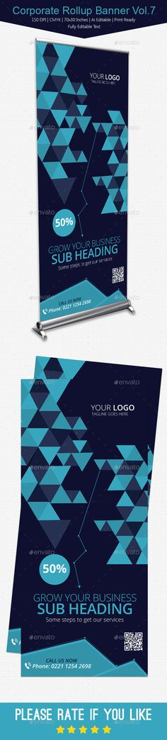Corporate Rollup Banner Vol.7