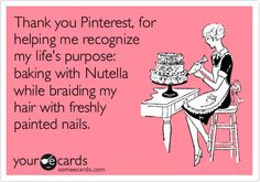 I found my life's purpose thanks to Pinterest ;-)