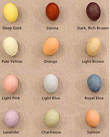 Natural Easter Egg Dyes #easter
