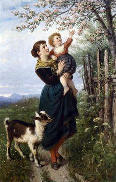 Немецкий художник Rudolf Epp (1834-1910)