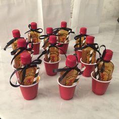 53 coolest diy mason jar gifts other fun ideas in a jar do it mini fireball gifts solutioingenieria Choice Image