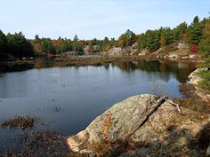 Kawartha Highlands Provincial Park facts and information. Everything you need to know to plan a trip to this wilderness park located just north of Peterborough in the Kawartha Lakes region. Ontario Provincial Parks, Great Places, Places To Visit, All About Canada, Peterborough, Canada Travel, Get Outside, Highlands, Camping
