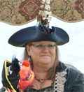 Be sure to come to the Pirate Invasion #inBeaufort to meet Rowdy Robin!