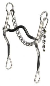 """3/8""""Sweet Iron Med Port. 9"""" Cheeks, 5"""" Mouth. The longer shank lifter design utilizes increased curb pressure to help elevate and rebalance a horse that has a tendency to drop a shoulder in turns - resulting in a loss of rhythm, forward momentum, and balance. Considered a correction bit, the lifter should be used on a horse that is well into the shank bridle. The loose independent shank allows for supple turns and is an excellent barrel racing bit, especially for a weak rider on a strong… Horse Bits, Horse Tack, Barrel Racing Tips, All About Horses, Barrel Horse, Homesteading, Passion, Drop, Shoulder"""