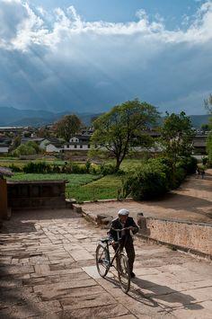 Village of Shaxi in Dali, Yunnan, China