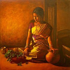 Amazing paintings for all you people to see. Its by Ellayaraja from Tamilnadu…