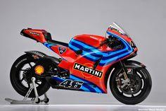 Martini Racing + Ducati + Valentino Rossi