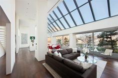 Now that's what I call open plan living with natural light! - Impressive Duplex Penhouse in Tribeca