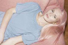 More lovely pastel raspberry hair