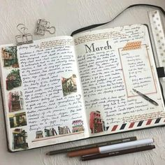 Bullet Journal Planner, Bullet Journal Inspiration, Writing Inspiration, Bullet Journals, Collage Drawing, Bullet Journal Aesthetic, Arte Sketchbook, Journal Pages, Journal Ideas
