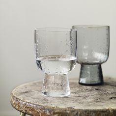 Sarjaton Glass Clear Set Of 2