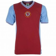 Official Aston Villa 1982 Home Football Shirt Celebrate Aston Villa's European Cup win of 1982 with these official, replica football sh. Aston Villa Fc, Ipswich Town, European Cup, Goalkeeper, Home And Away, Football Shirts, Homemade Cards, Premier League, Childhood