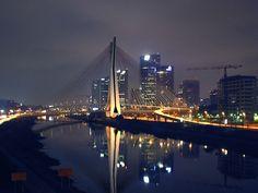 Ponte estaiada, city São Paulo,Brazil