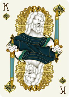 Nouveau BIJOUX King of Spades - playing cards art, game, playing cards collection, playing cards project, cards collectors, design, illustration, card game, game, cards, cardist, cardistry, bijoux, jewelry